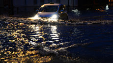 В Днепре новую брусчатку за сотни миллионов смыло дождем