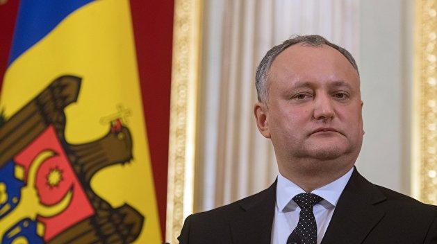 Додон заблокировал законопроект о праздновании  Дня Европы 9 мая