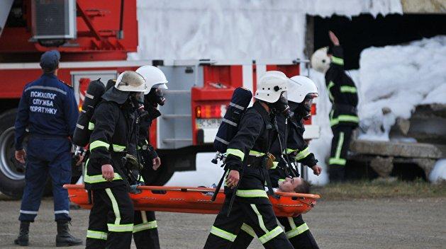 Масштабный пожар со взрывами в Одессе: горел рынок «Северный»