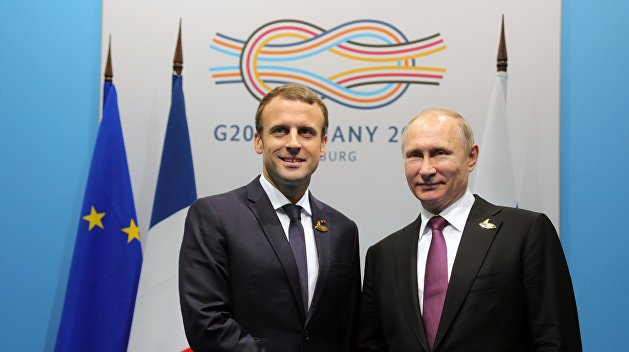 В Кремле разделяют готовность Макрона к диалогу с Россией