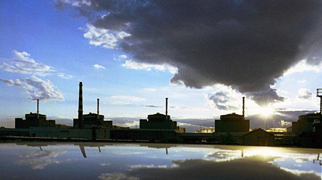 На Запорожской АЭС строят хранилище для радиоактивных отходов