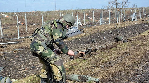 Госдеп США: На разминирование Донбасса уйдут десятилетия