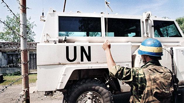 Президент Украины призвал ООН ввести миротворцев в Донбасс