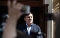 Саакашвили обвиняет Луценко в ксенофобии и готовится к депортации