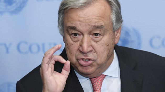 Генсек ООН: Ссора России и США недопустима для всего мира