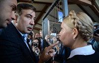 Саакашвили и Расмуссен отказались от прямой поддержки Тимошенко
