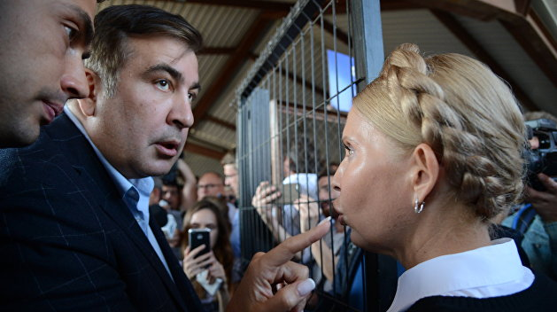Арестован участник «прорыва» Саакашвили