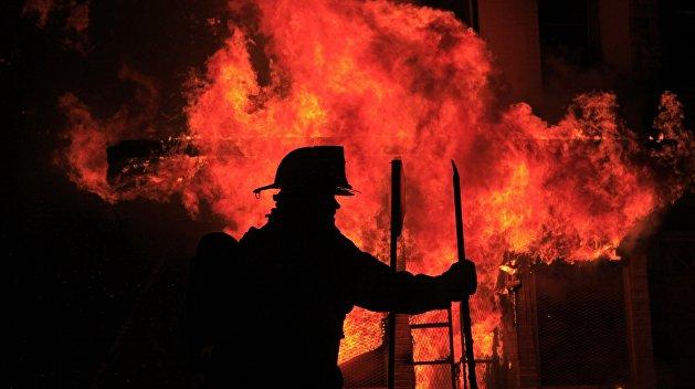 Требуют амнистию: в Киеве сгорели VIP-камеры следственного изолятора