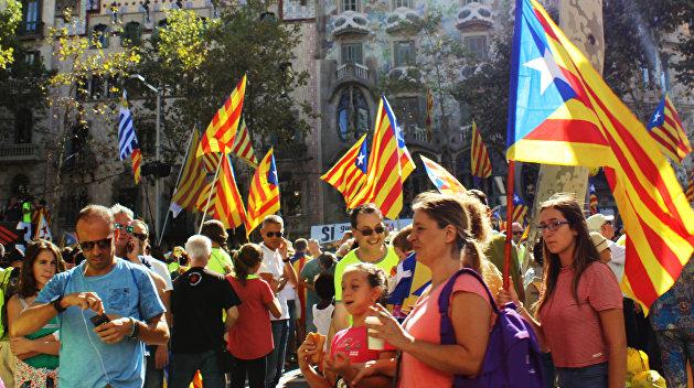 Власти Испании закрыли сайт референдума о независимости Каталонии