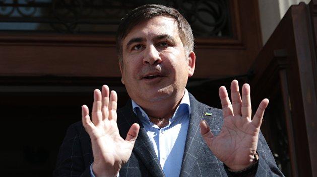 Саакашвили не планирует захватывать Раду, Луценко обещает не арестовывать Михо
