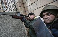 На суде над Януковичем показали видео с применением оружия участниками Майдана