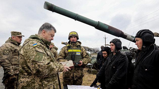 Олейник: Порошенко нужна война до полного истребления украинского народа