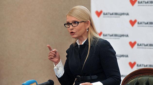 Тимошенко обвинила Порошенко в гибели детей в одесском лагере