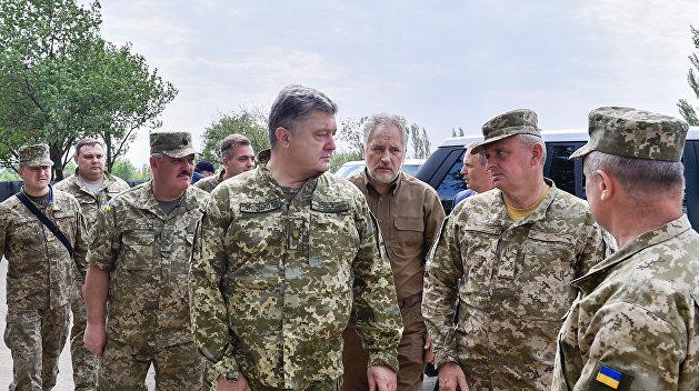 Порошенко заявил о ближайшей ротации в Донбассе