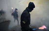 Радикалы забросали Ильичевский суд гранатами за оправдание «куликовцев»