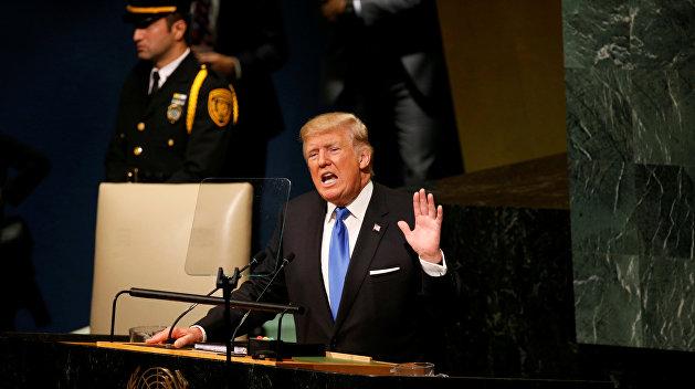 Трамп призвал всех бороться за независимость