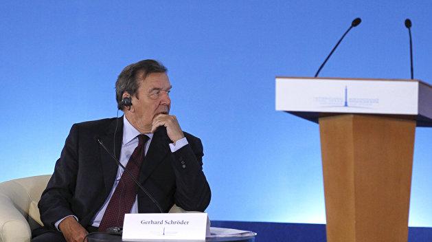 Экс-канцлер Германии: Не будет российского президента, который откажется от Крыма