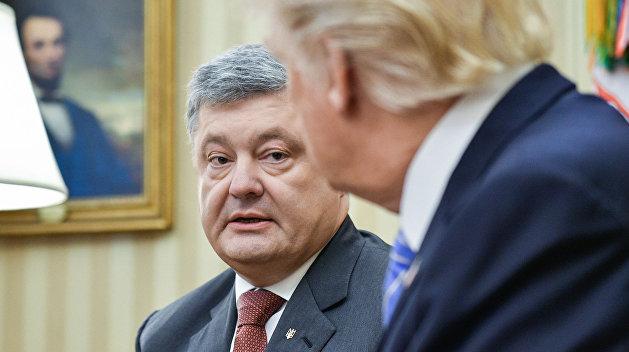 Трамп рассказал об урагане «Ирма» на просьбу Порошенко помочь с проведением реформ на Украине