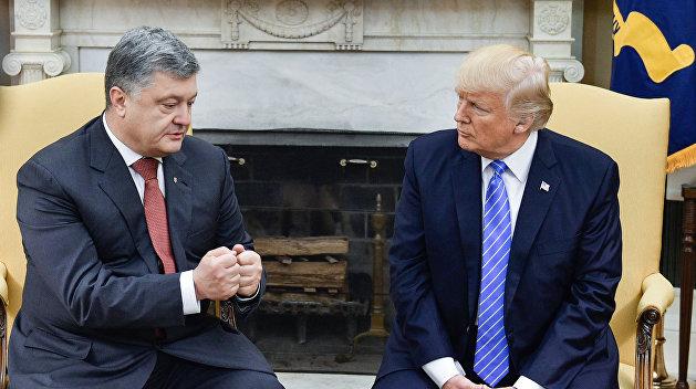 Бондаренко описал, что произойдет с Порошенко, если Трамп победит на выборах