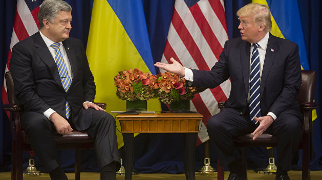 Порошенко после встречи с Трампом: Украина не получит летальное оружие от США