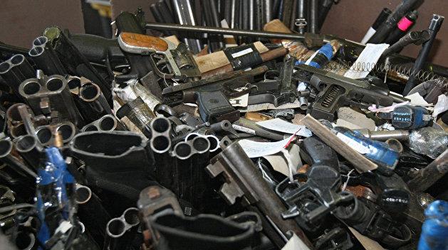 В Киеве обнаружили подпольную базу по производству оружия