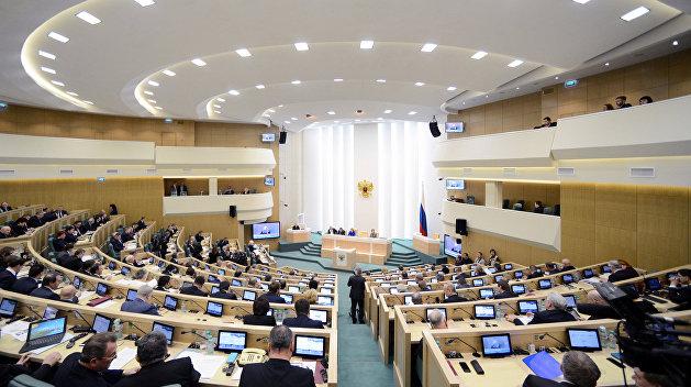 Совфед призовет мир осудить срыв Украиной выборов президента России на своей территории