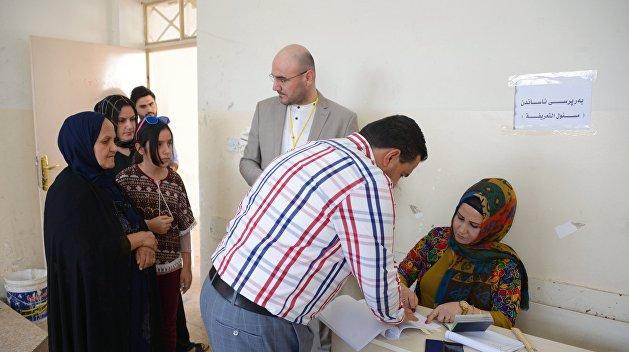 В Ираке проходит  референдум о независимости Курдистана
