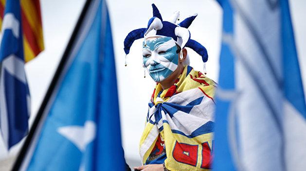 Шотландия поддержала свободную Каталонию