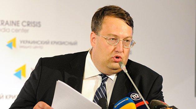 Антон Геращенко: за взрывы в Калиновке в ответе Порошенко