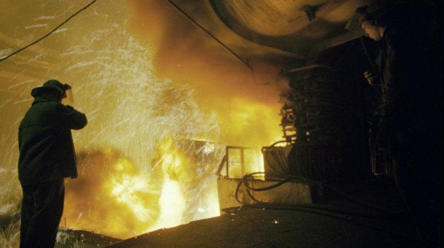 Украина ушла на две позиции вниз в мировом рейтинге выплавки стали