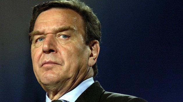 Шредер призвал ослабить антироссийские санкции
