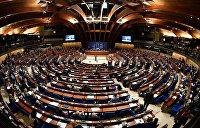 Что ПАСЕешь...Как украинцы превращают Страсбург в Верховную Раду