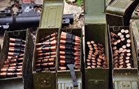 В Черниговской области полиция обнаружила тайник с боеприпасами