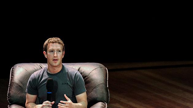 Марк Цукерберг: Facebook блокирует публикации украинских пользователей за их агрессию