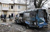 Теракт в Донецке: взорвана машина главы Миндоходов ДНР