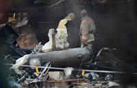 В Казахстане разбился самолет, экипаж и пассажиры погибли