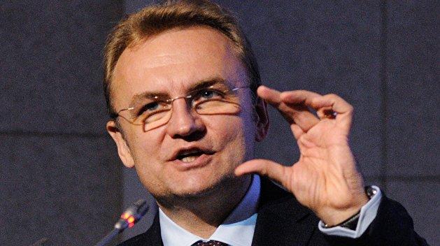 Мэр Львова Садовой опозорился из-за вовремя не выключенного микрофона