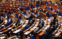 ПАСЕ приняла резолюцию о гуманитарных последствиях войны на Украине