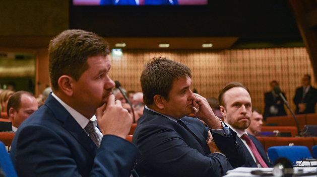 Золотарёв: Резолюции ПАСЕ свидетельствуют о крахе внешнеполитической доктрины Украины