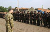 Порошенко пообещал Украине вступление в НАТО и 62 танка