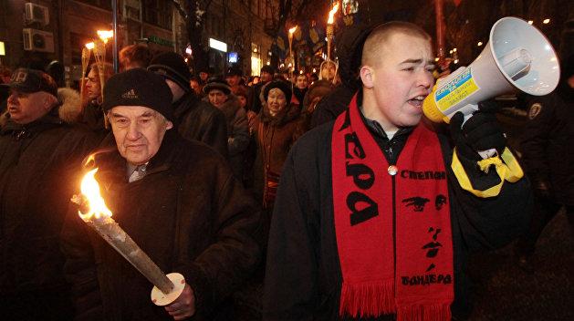 Киевская полиция рассказала о численности марша неонацистов
