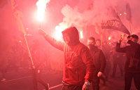 Остановили на ходу: Киевская электричка подверглась нападению вандалов