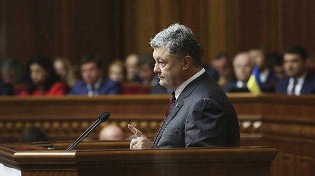 Порошенко заявил о готовности внести в парламент закон об Антикоррупционном суде