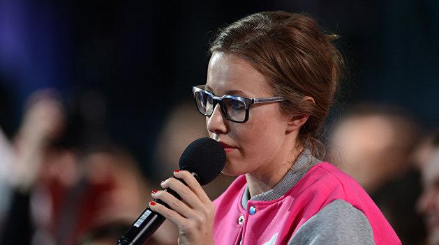 Ксения Собчак: Порошенко, ты воюешь с собственным народом