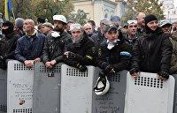 Бойцы добробатов «отжали» МихоМайдан у Саакашвили