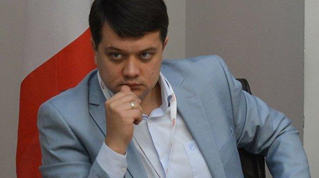 Разумков поделился видением ситуации с «евробляхами»