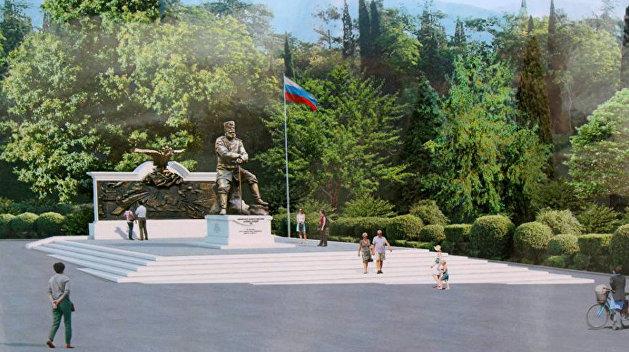 В Крыму установили памятник императору Александру III