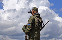 В центре Луганска из-за анонимной угрозы оцепили территорию у памятника
