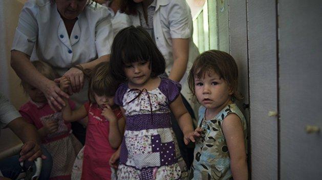 На Украине за год исчезло 5 тысяч детей