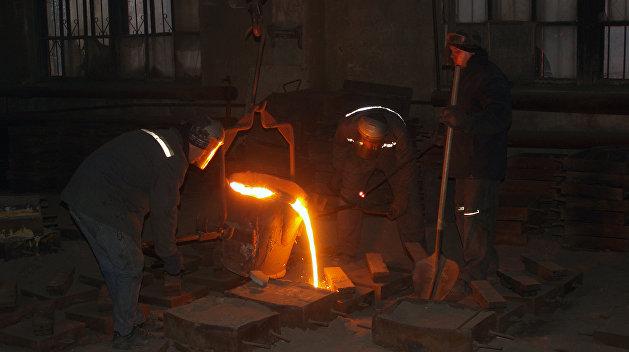 На Украине упало производство стали